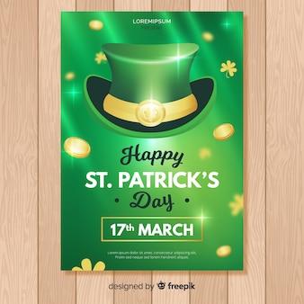 St. patrick's dag flyer teplate