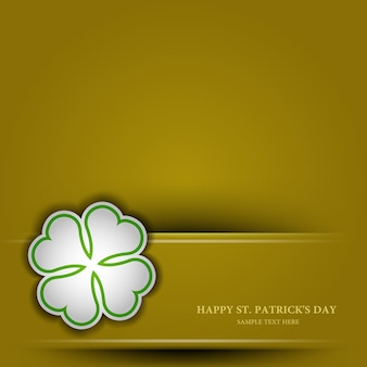 St. patrick's day achtergrond, naadloos behang patroon