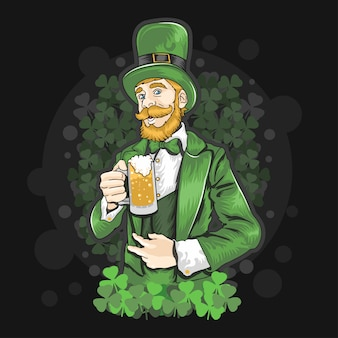 St. patrick's day bierfeest