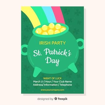 St. patrick's day feestvlieger