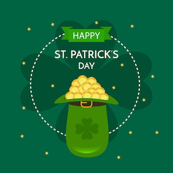 St. patrick's day illustratie