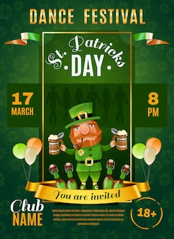 St patrick's day-poster