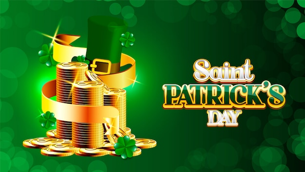 St. patrick's day poster.