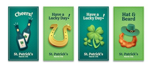St. patrick's day verhalencollectie