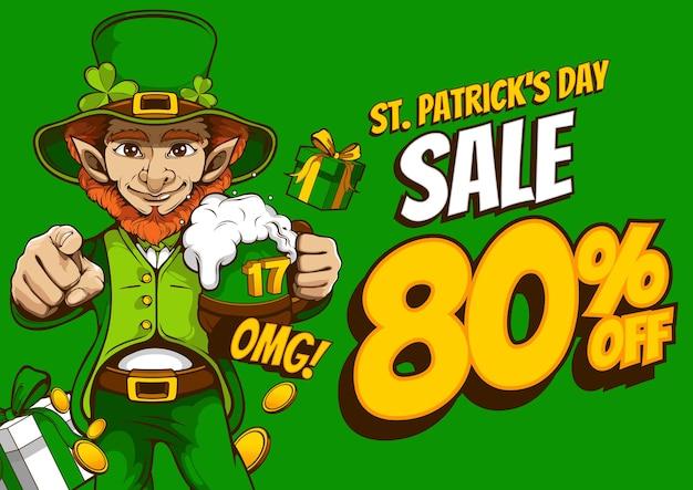St. patrick's day verkoop