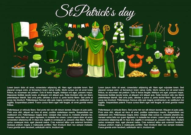 St patrick sjabloon