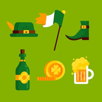 St. patricks dag element collectie