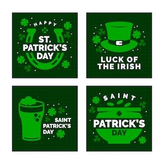 St. patricks dag evenemententhema voor instagrampost