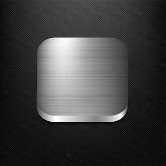 Staal app-knop