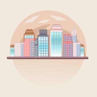 Stad stad wereld