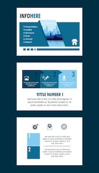Stadsbrochure infographic
