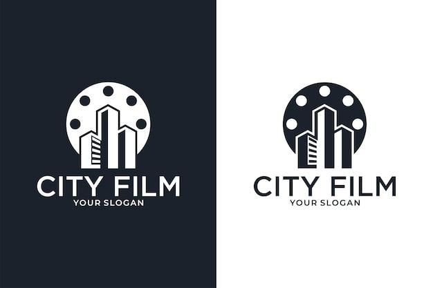 Stadsfilm film logo ontwerp