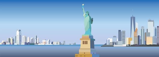 Stadsgezicht van new york