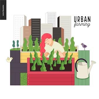 Stadslandbouw en tuinieren