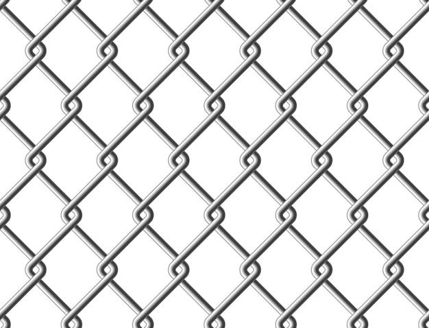 Stalen gaas metalen hek naadloze structuur