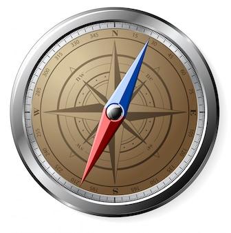 Stalen kompas
