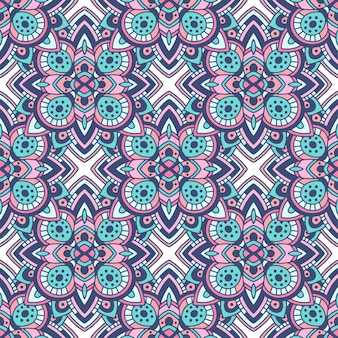 Stammen naadloos kleurrijk geometrisch patroon. etnische textuur. traditioneel ornament.