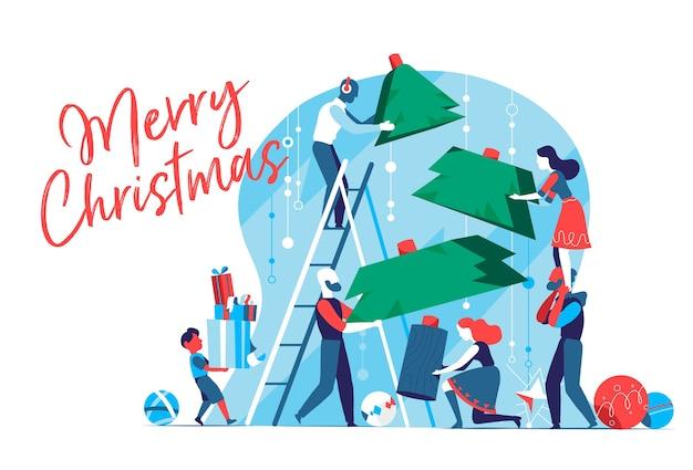 Stampa van kerstmis