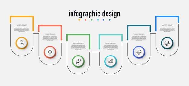 Stap infographic workflowdiagram