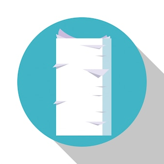 Stapel documentdocument bureauraad