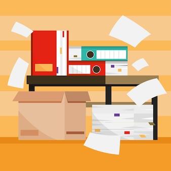 Stapel papieren documenten