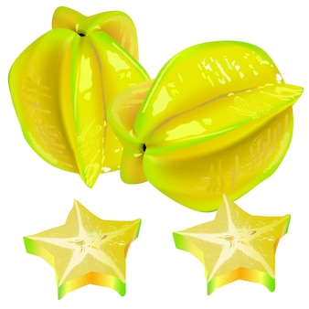 Star fruits two