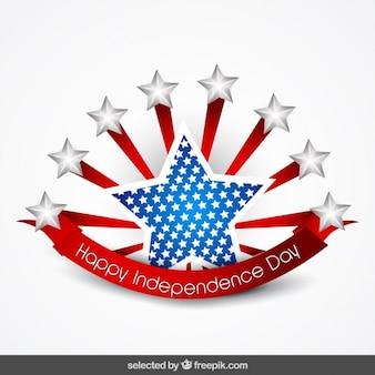 Star kenteken van de onafhankelijkheid dag