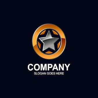 Star logo ontwerp