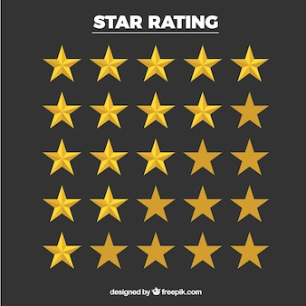 Star rating collectie