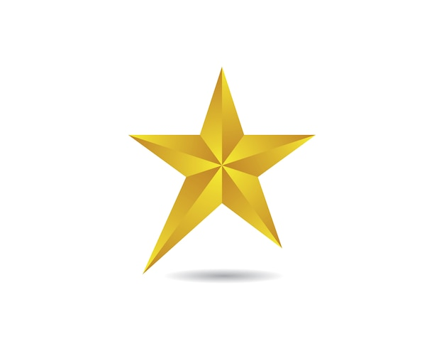 Star vector pictogram ontwerp