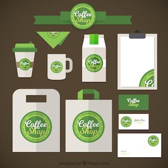 Starbucks merk briefpapier