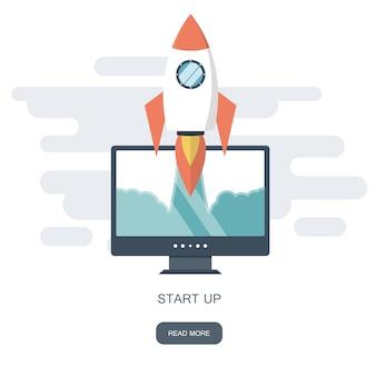 Start bedrijf voor de ontwikkeling van mobiele apps