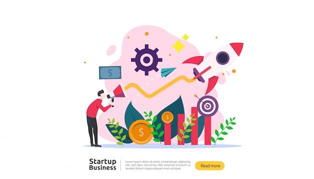 Start idee concept