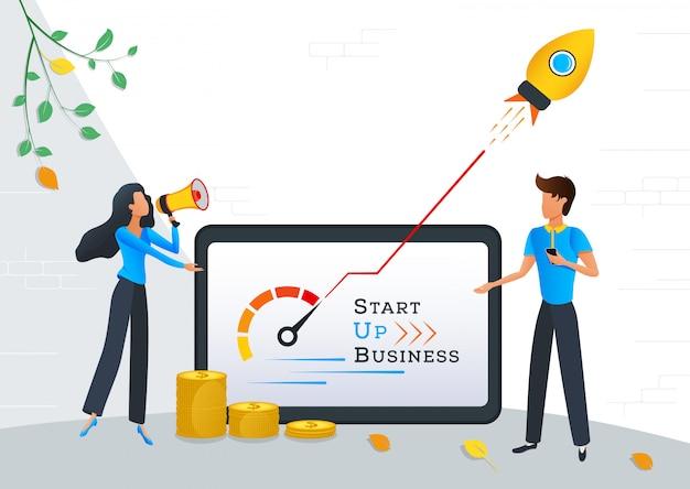 Start nieuw zakelijk project