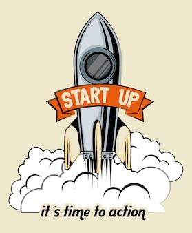 Start raket raket