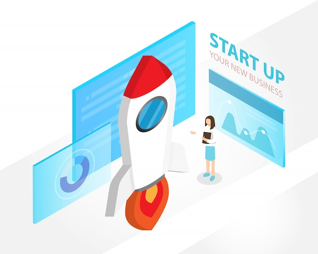 Startconcept voor bedrijven