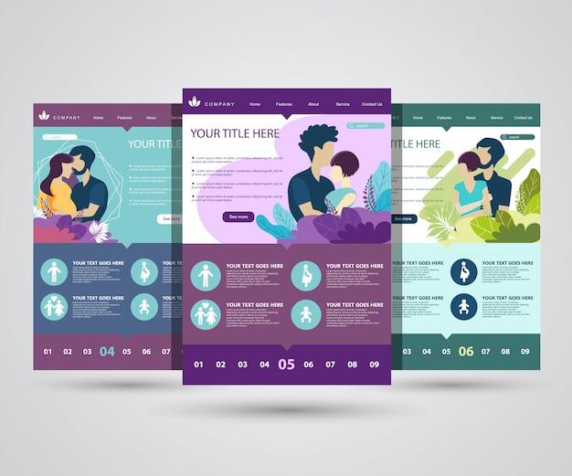 Startpagina's voor leven, familie en gezondheid