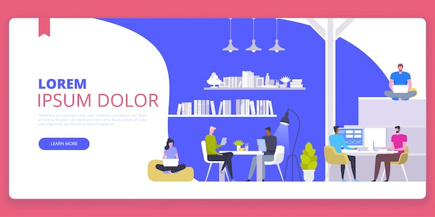 Startup business banner