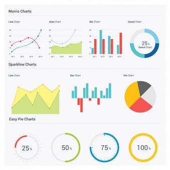 Statistiek infographics