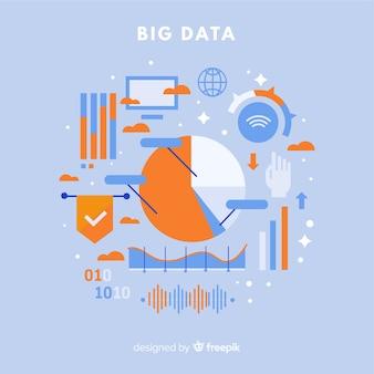 Statistieken big data-achtergrond
