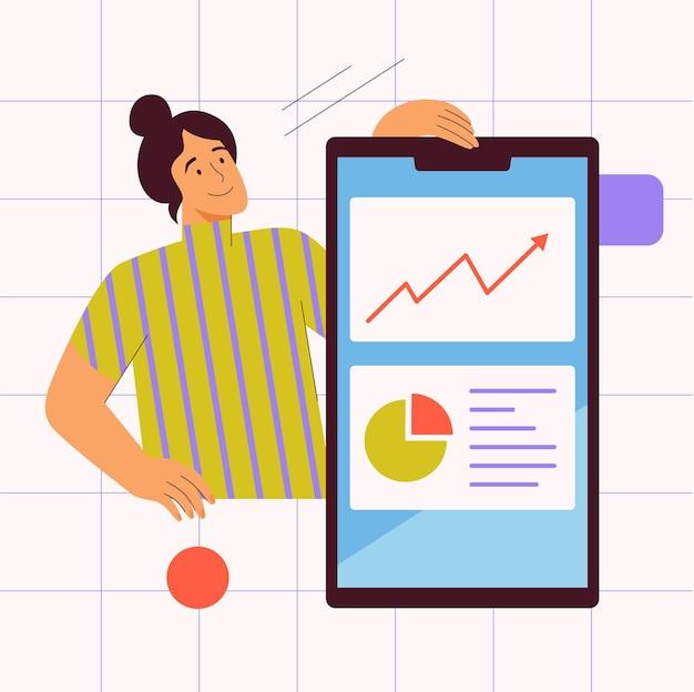 Statistieken in bedrijfsanalyses voor mobiele apps