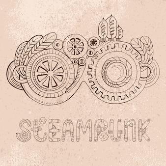 Steampunk-bril