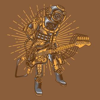 Steampunk rockstar