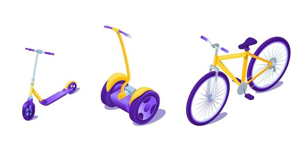 Stedelijke eco-transporttypes