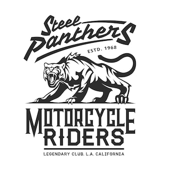 Steel panthers, american california bikers club