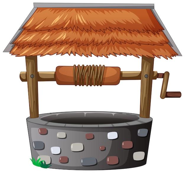 Steenput met geïsoleerd dak