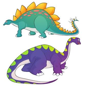 Stegosaurus-apatosaurus