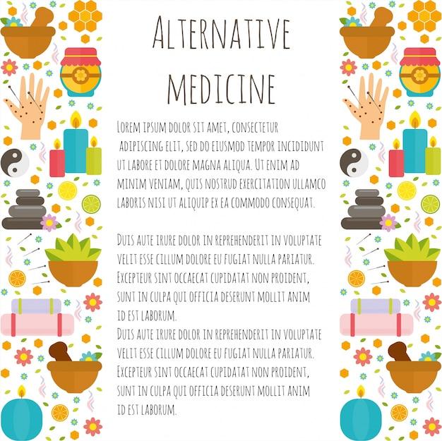 Stel alternatieve geneeskunde in