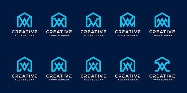 Stel bundelbrief een logo-sjabloon in