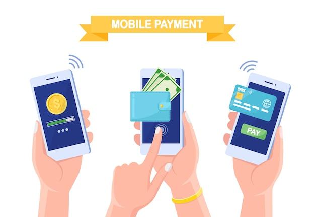 Stel een mobiele telefoon in met een creditcard of betaalpas